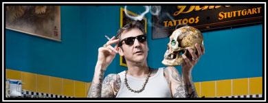 Bild von Luke Atkinsons als link zu den Künstler / Artitst von Chechker Demon Tattoos