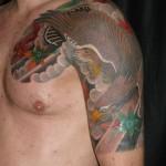Tattoo von Luke Atkinson Ratattoo Checker Demon Tattoos Stuttgart